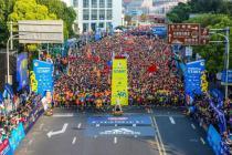 阿迪达斯巅峰能量席卷2017上海国际半程马拉松